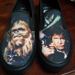 Nwot star wars sperry. Chewbacca and han solo